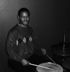 Ocie Davis New Orleans native and drummer with Bam-Jazz performance in Charlotte NC Live recording